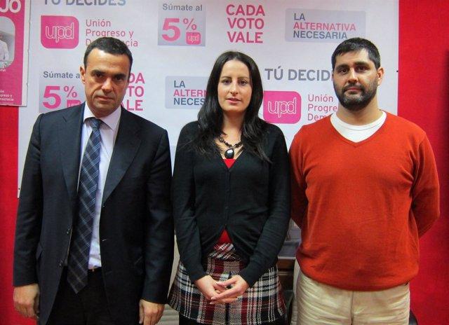 Rubén Múgica, Patricia Acha Y Juan José Meneu, Upyd
