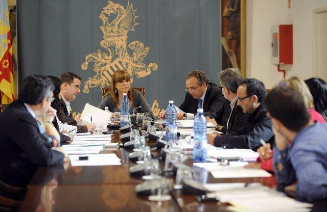 Reunión De La Comisión De Bienestar Social De La Diputación De Valencia.