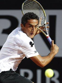 El Tenista Español Nicolás Almagro