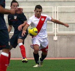 David González 'Nono', Jugador Del Rayo Vallecano