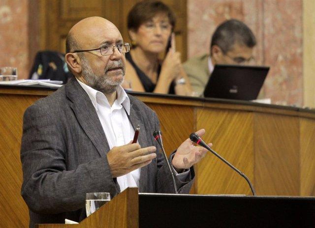 Ignacio García Interviene Ante El Pleno Del Parlamento Andaluz