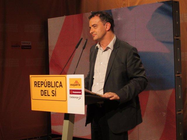 Alfred Bosch (ERC) En Sabadell