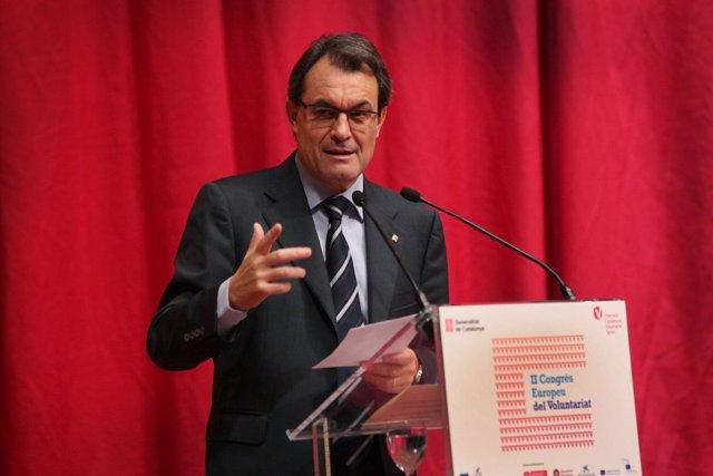 Artur Mas, Presidente De La Generalitat