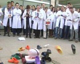 Protesta De Trabajadores Del CIPF