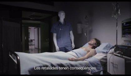 El PSC retira su polémico video a petición de Chacón