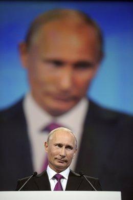 El Primer Ministro Ruso Vladimir Putin