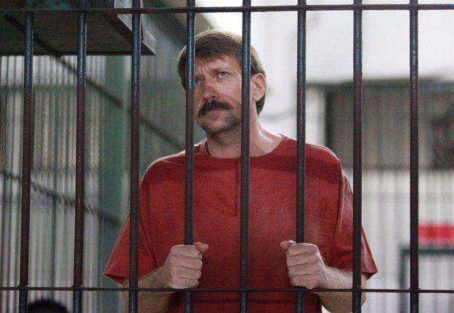 Viktor Bout, ex oficial ruso, actualmente acusado de tráfico de armas