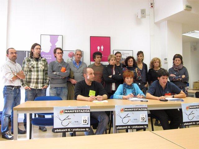 Convocada Una Manifestación En Pamplona En Defensa De La Sanidad Pública.