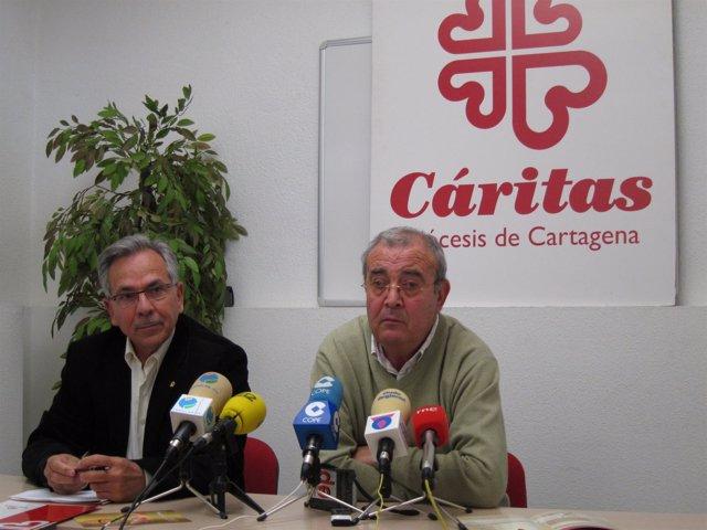 Miembros de Cáritas Murcia