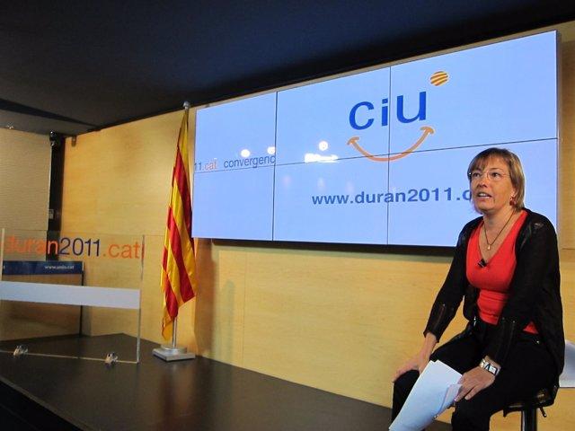 Marta Llorens Presenta Campaña 2.0 De Ciu