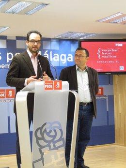 Antonio Hernando PSOE Y Miguel Ángel Heredia