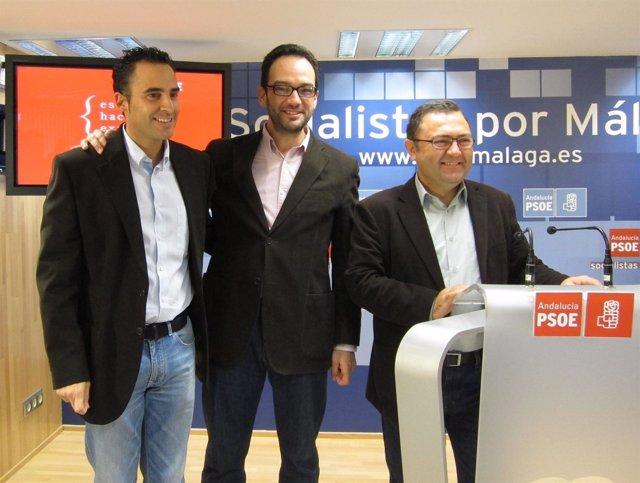Daniel Pérez, Antonio Hernando Y Miguel Ángel Heredia