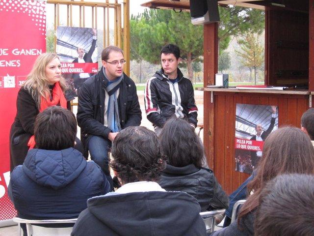 Luena Participa En Un Encuentro Con Jóvenes Riojanos