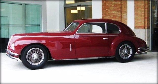 Alfa Romeo De 1949 De La Colección Del Museo Automovilístico