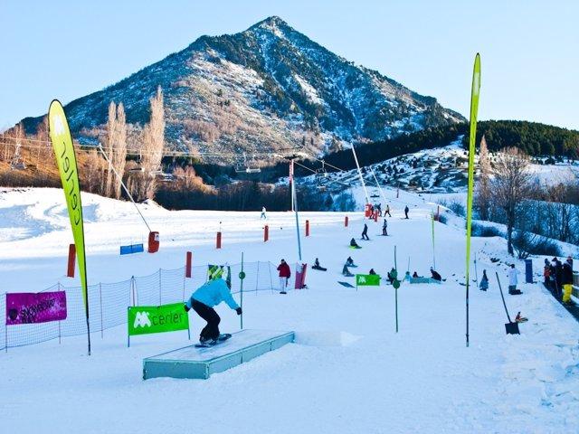 Snowpark De Cerler