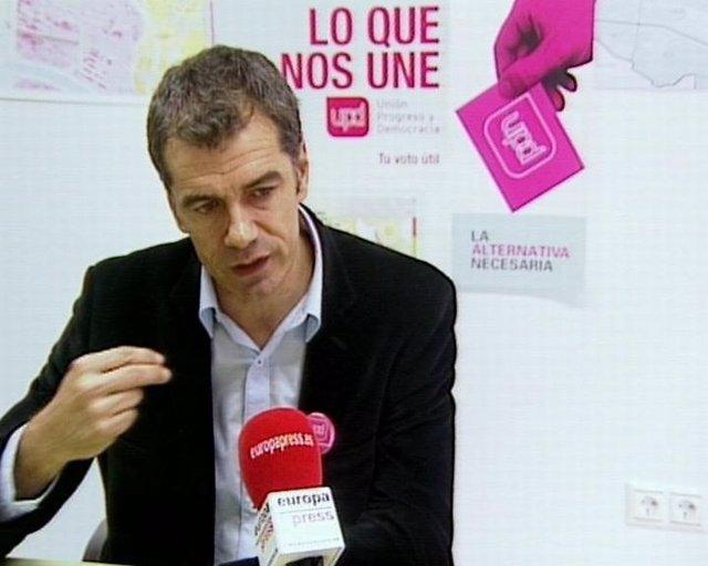 Tony Cantó, Cabeza De Lista Por Valencia De Upyd