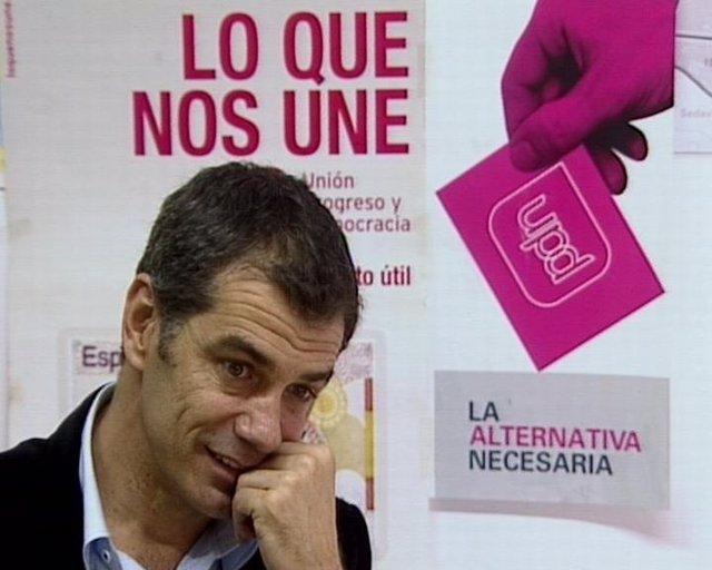 Tony Cantó, Cabeza De Lista Por Valencia Upyd