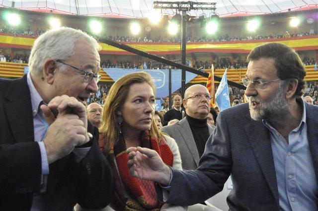 Rajoy (PP) Habla Con Biel (PAR)