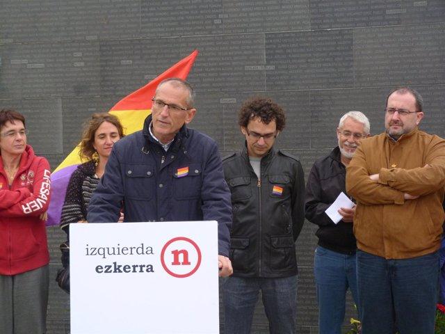 Izquierda-Ezkerra Presenta Una Ley De Memoria Histórica De Navarra.