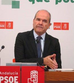 Manuel Chaves En Rueda De Prensa