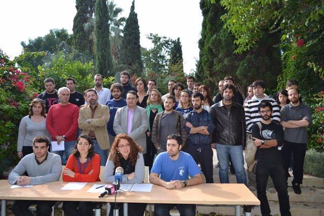 Representantes Del Movimiento Asociativo Juvenil De Baleares