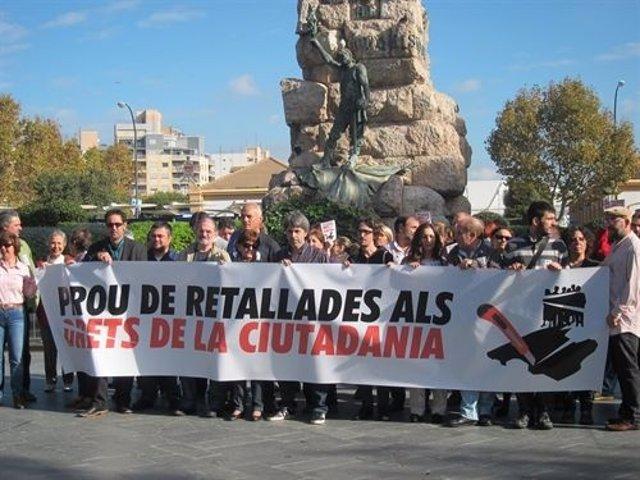 Presentación De La Manifestación En Palma