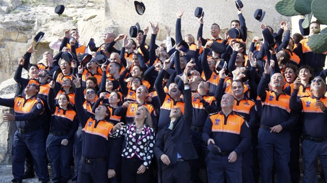 Castedo  Celebra El Día De Los Voluntarios De Protección Civil.
