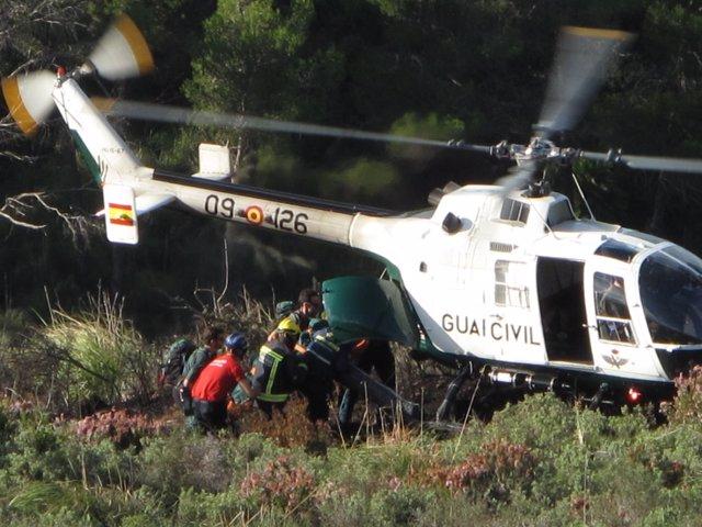 La Guardia Civil Rescata Los Cuerpos De Los Tripulantes Fallecidos