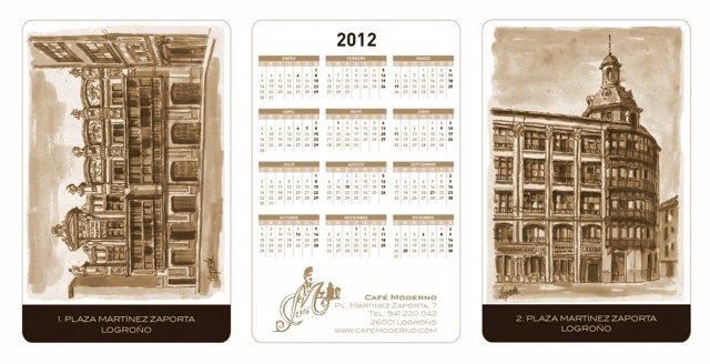 Calendarios 2012 Del Café Moderno