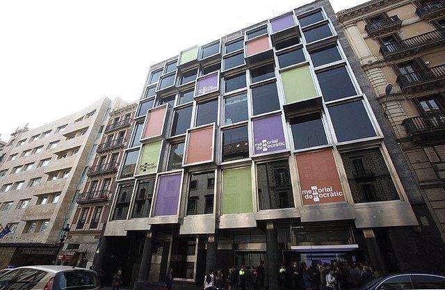 Antigua Sede Del Memorial Democràtic De La Generalitat En Barcelona