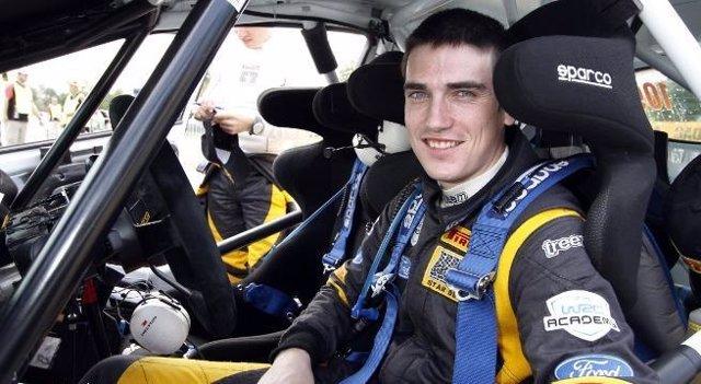 El Piloto Irlandés De Rallys Craig Breen