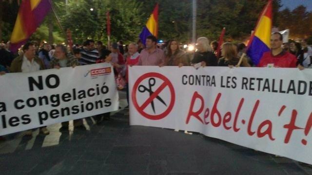 Manifestación Recortes Palma
