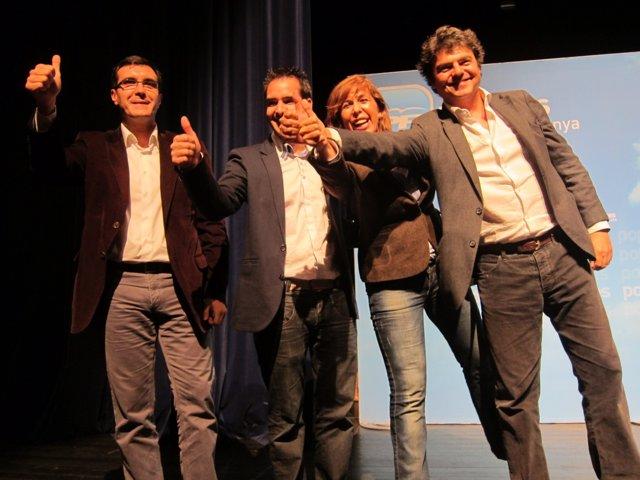 José Luis Ayllón, José Luis Moya, A.S.Camacho Y Jorge Moragas (PP)
