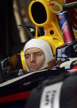 El piloto de F1 Mark Webber