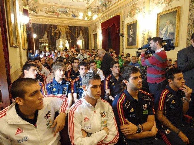 La Selección Sub-21, Homenajeada En Antequera