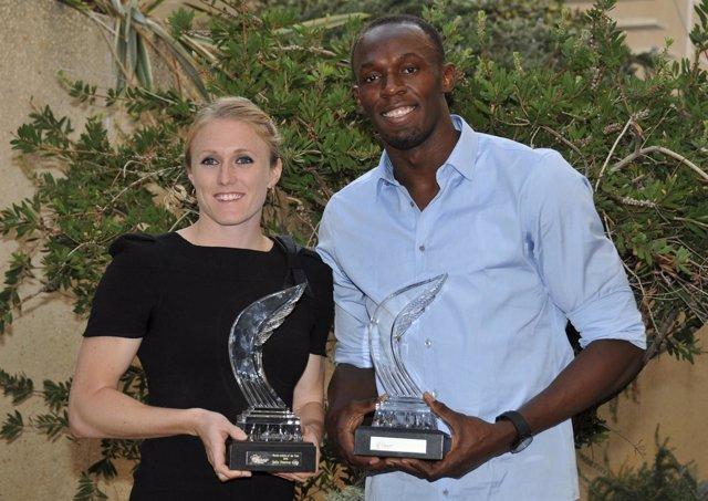 Sally Pearson Y Usain Bolt, Premiados Por La IAAF