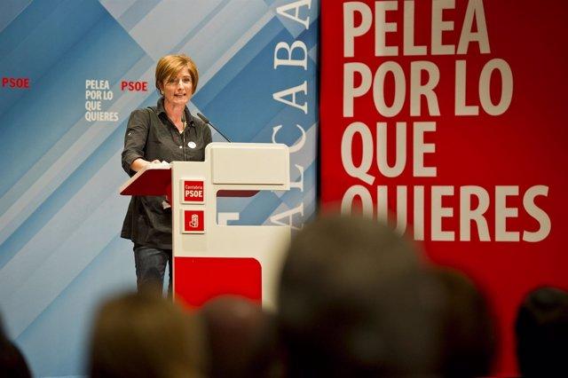 Foto De Archivo. Puerto Gallego En Un Mitin