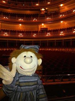 Marioneta Evaristo, De La Ópera Infantil.