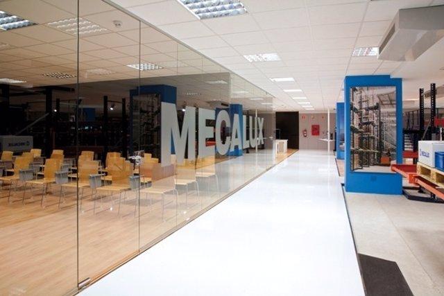 Showroom De Mecalux En Barcelona