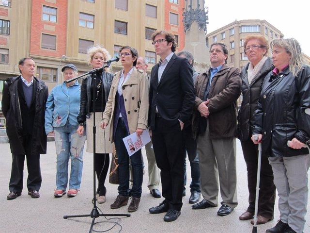 Acto Electoral Del PSN En La Plaza Del Vínculo.