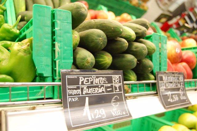Pepinos Del Supermercado.