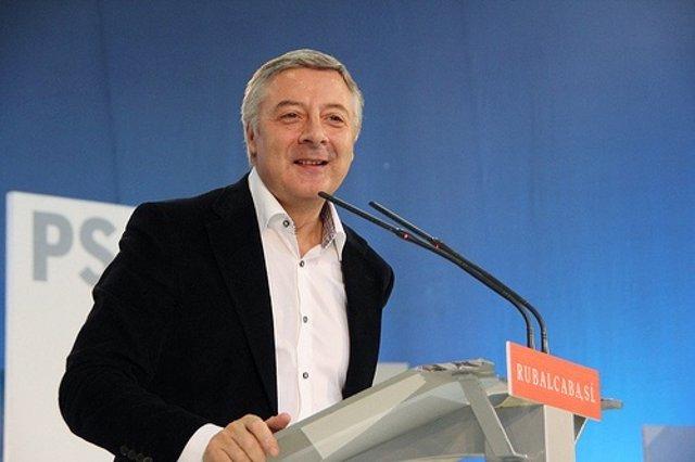 El Socialista José Blanco En Ourense