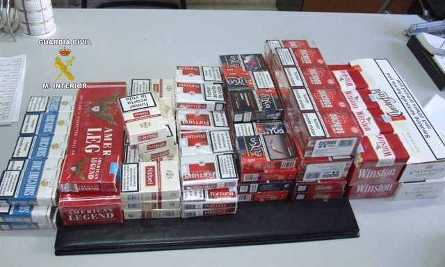 Tabaco De Contrabando Intervenido