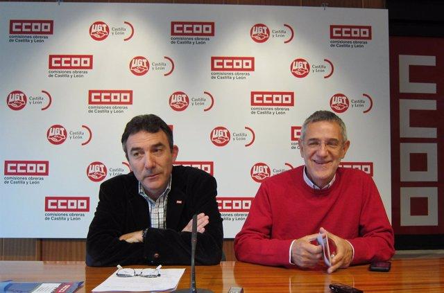 Los Secretarios Regionales De CC.OO. Y UGT Presentan Sus Propuestas Al Gobierno
