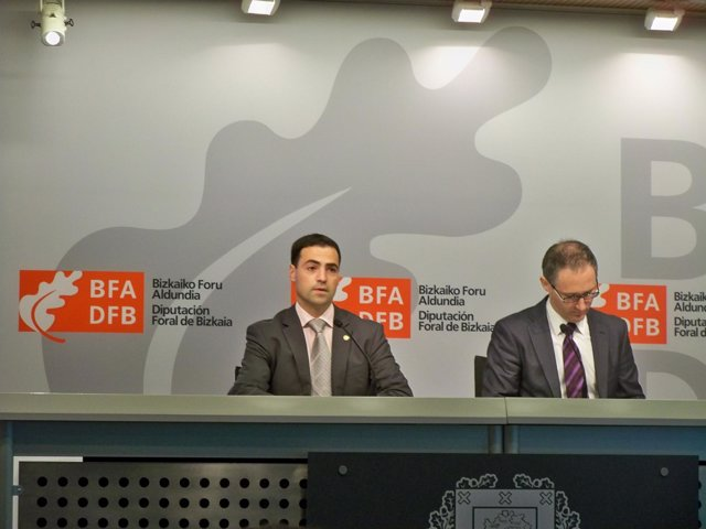 El Diputado Vizcaíno De Pormoción Económica, Imanol Pradales.