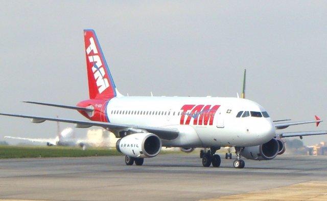 Avión De TAM