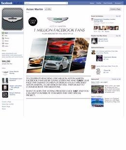 Aston Martin En Facebook