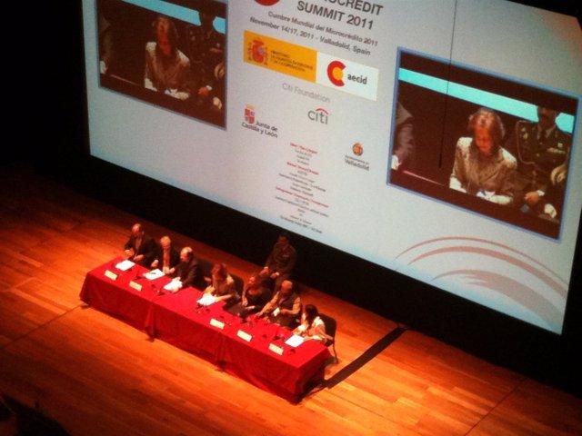 Inauguración Cumbre Microcrédito