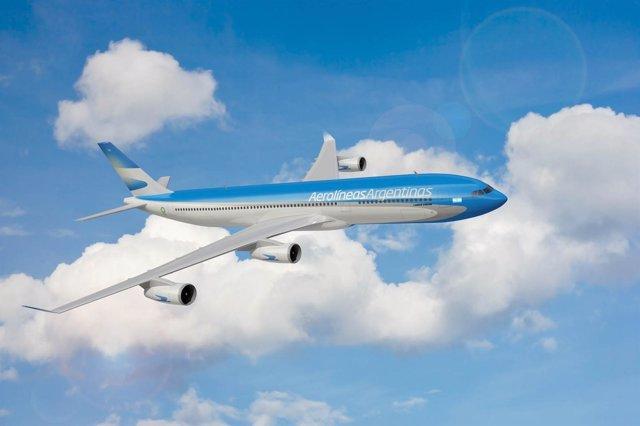 Avión De Aerolínas Argentinas