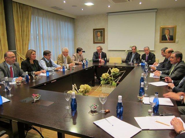 Reunión Entre UPN-PP Y Responsables De La CEN.